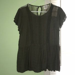Knox Rose XL Army Green Blouse